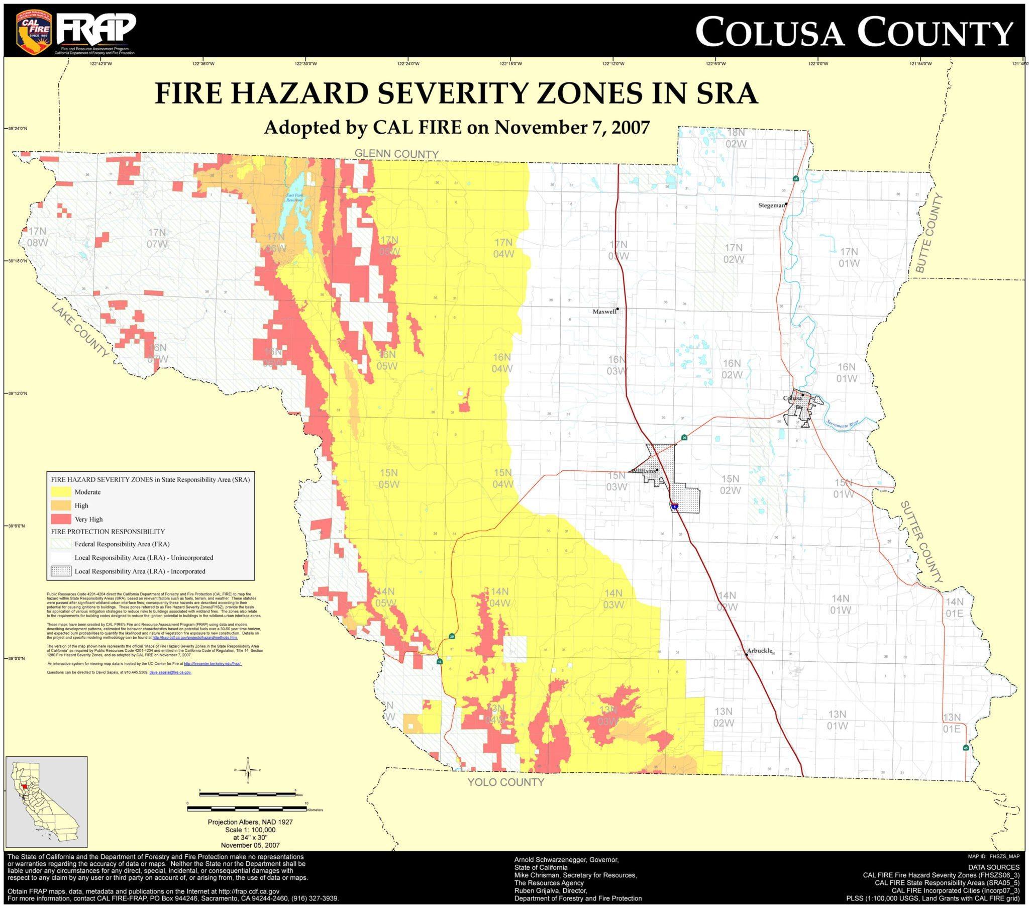 Colusa County, California